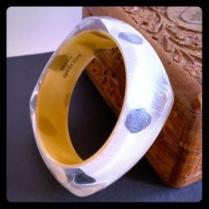 Kate Spade Pop Art Ikat Bracelet Lucite Bangle